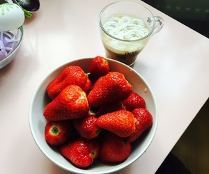coffe, healthy, and FRUiTS image