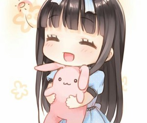 kawaii, anime, and chibi image