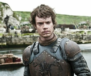 games of thrones and theon greyjoy image