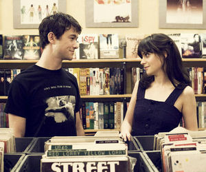 500 Days of Summer, couple, and zooey deschanel image