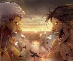 anime, titan, and shingeki no kyojin image