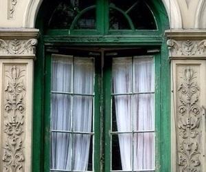 window, france, and vintage image