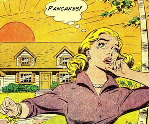 pancakes, comic, and funny image