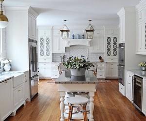 farmhouse, kitchen, and farmhouse kitchen image