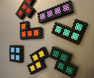 crafts, magnet, and tetris image