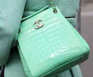 chanel, bag, and green image