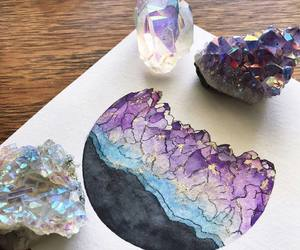 art and crystal image