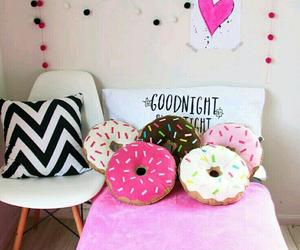 decor, girl, and pink image