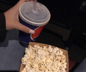 coke, drinks, and movies image