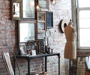 mirror, vintage, and room image