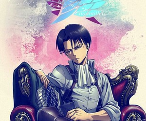 levi, attack on titan, and shingeki no kyojin image