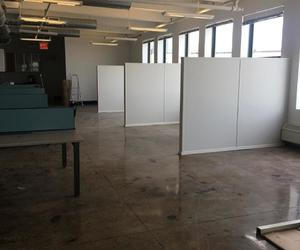 room dividers, nyc living, and nyc office image