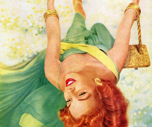 1950's, revlon, and advertising image