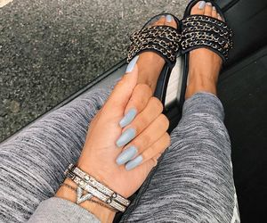 fashion, nails, and slay image