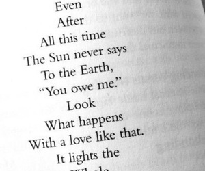 quote, sun, and earth image