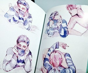 kaisoo, exo, and fanart image