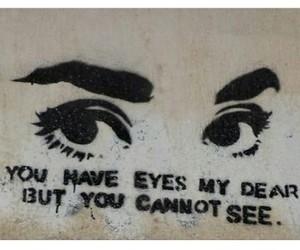 black, blind, and eyes image