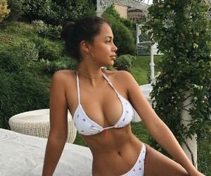 bikini, girl, and body image