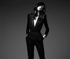 black, suit, and business image