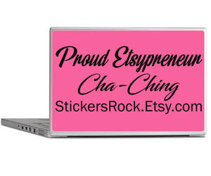 business owner, custom decal, and bumper sticker image