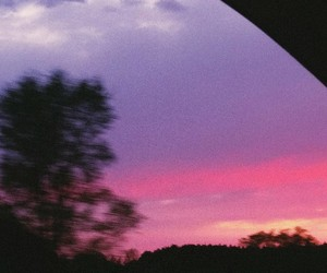 nature, pink, and night image