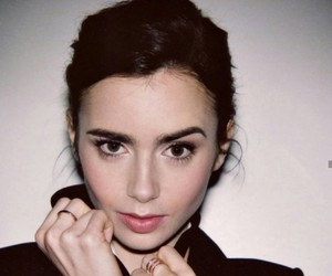 beauty, lily collins, and celebrity image