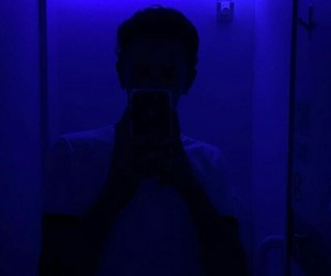 blue, lights, and neon image