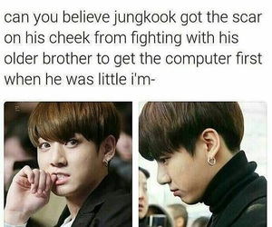 funny, jungkook, and kpop image