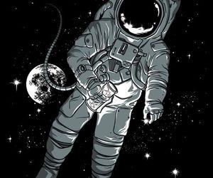 astronauta, tumblr, and vintage image