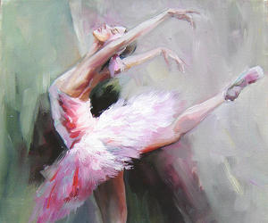 ballet, art, and dancer image
