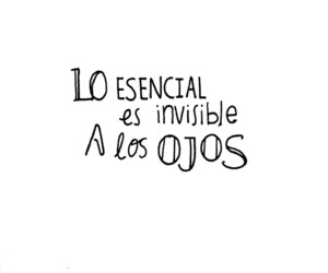 lettering, quote, and spanish image
