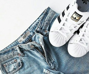 shoes, short, and adidas image