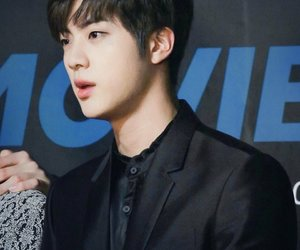 bts, jin, and boy image