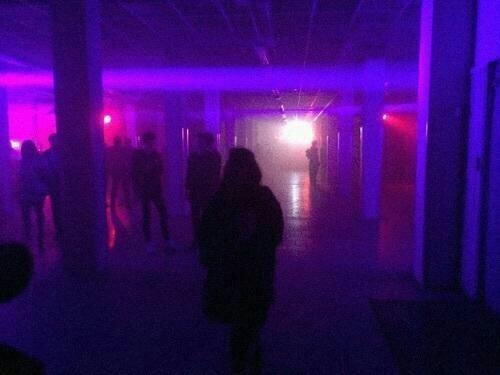 grunge, purple, and neon image