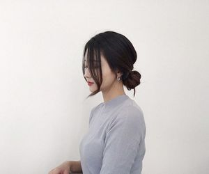 girl, asian, and beauty image
