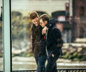peter parker, harry osborn, and andrew garfield image