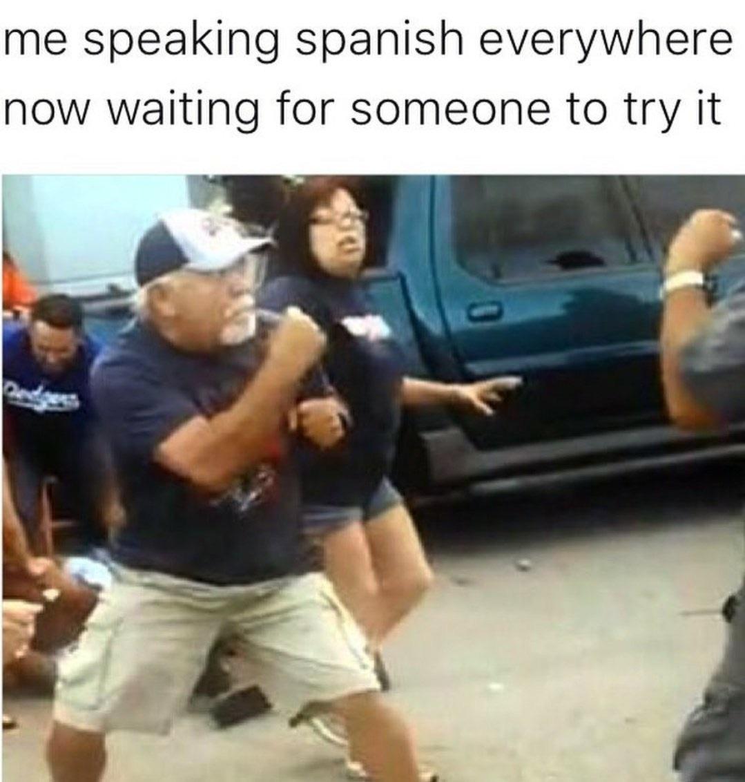 funny, latinos, and spanish image