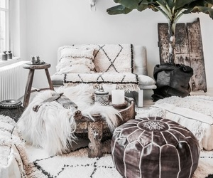 home, boho, and interior image