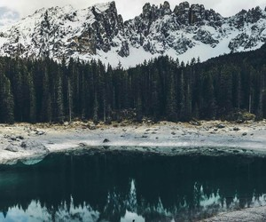 adventure, beautiful, and mountains image