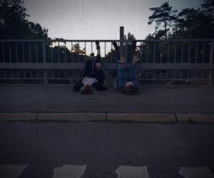 grunge, sky, and teens image