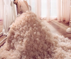 fashion, bridal, and Couture image
