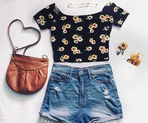 fashion, flower child, and inspire image