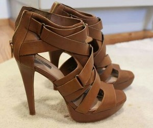 fashion, high heels, and shopping image