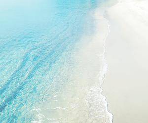 beach, beautiful, and pastel image