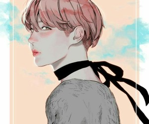 bts, jhope, and fanart image