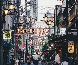 city, japan, and place image