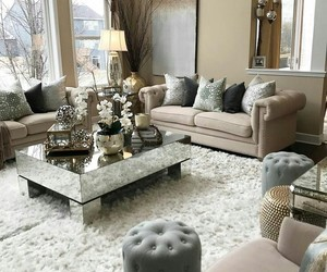 beige, home, and interior image