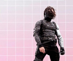 background, captain america, and pink image