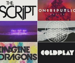 bring me the horizon, coldplay, and fall out boy image