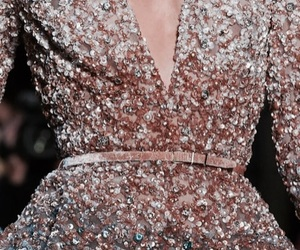 dress, runway, and elie saab image